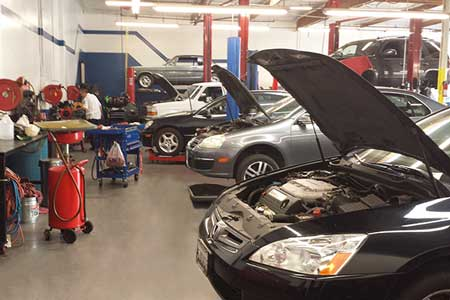 General Automotive Repair Bays in Chino, CA
